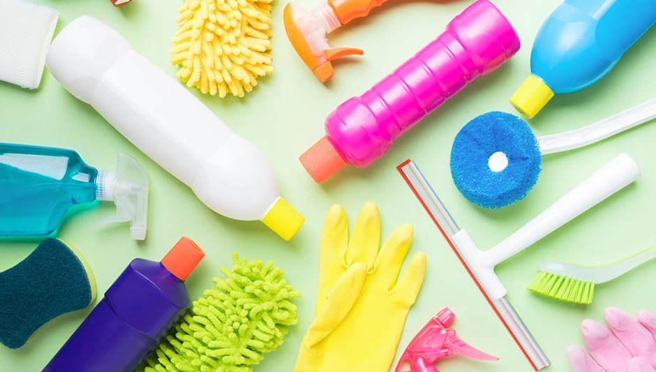 chemicals and cleaning products